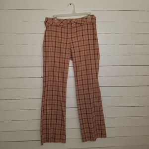 Plaid pants by The Limited
